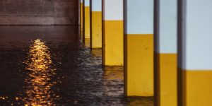 Dry Effect Commercial Flooding