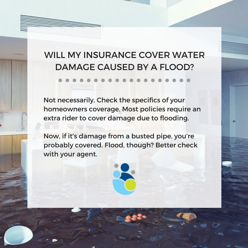Dry Effect Water Damage