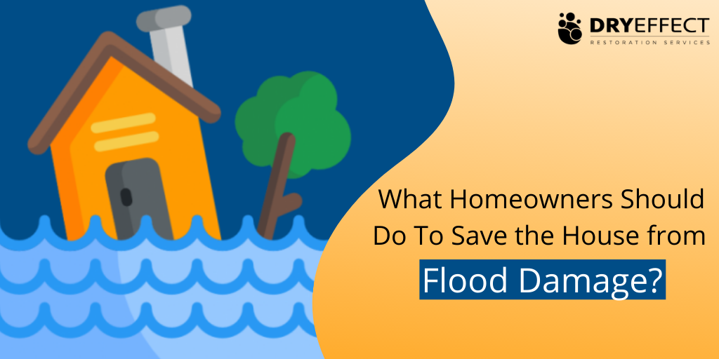 What Homeowners Should Do To Save the House from Water Damage?