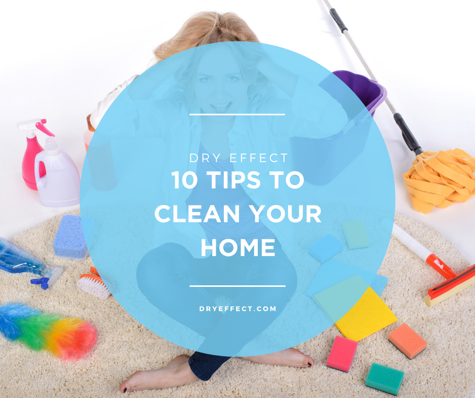10 Tips to Clean Your Home